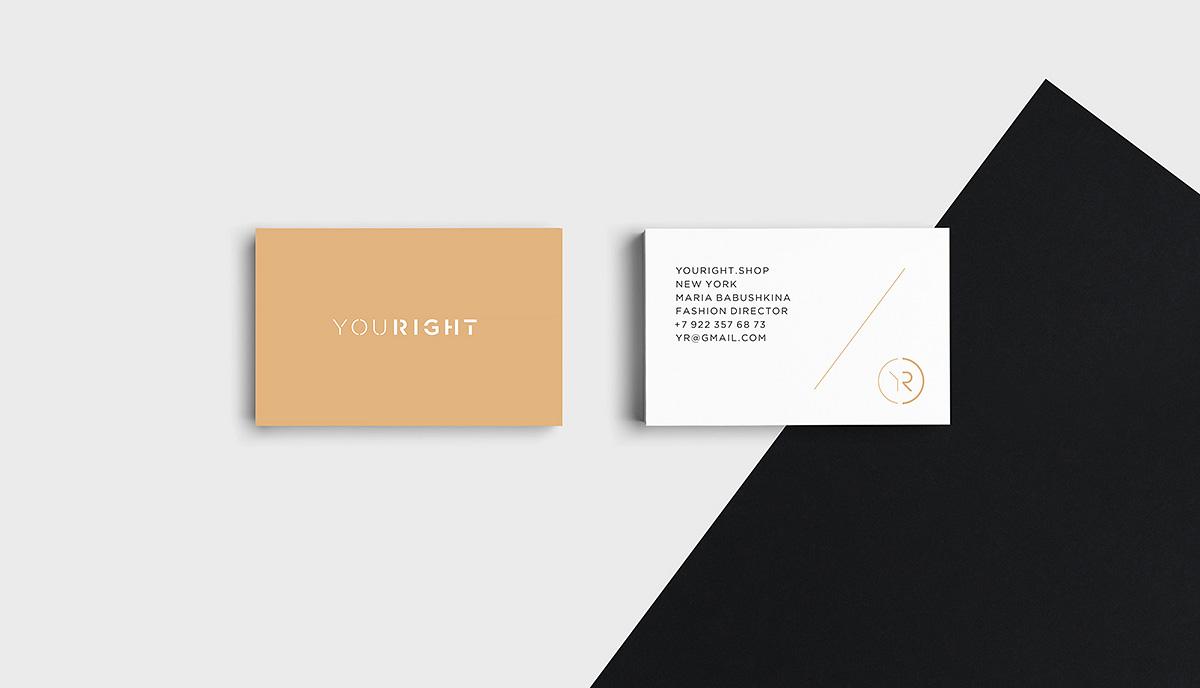 логотип для бренда одежды, YouRight
