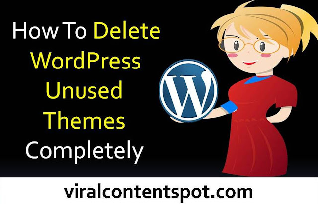 Delete Unused WordPress Themes