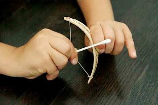 Cara Membuat Kerajinan Tangan Dari Stik Es Krim, Panah Mainan 5
