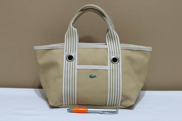 Jual tas tas second bekas branded original murah dari Singapore Original  Authentic dengan harga yang kompetitif. LACOSTE 77320c9ec4