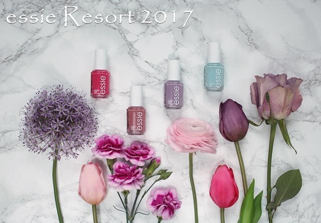 essie - Resort 2017 LE Vergleiche