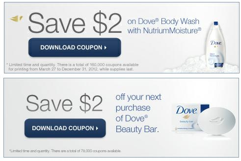 Save $ with Dove shampoo coupons with soap and body wash generally $ off. Find the best Dove coupon deals at Target, Walgreens, CVS and Rite Aid.