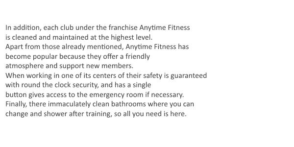 Fitness Secrets Anytime Fitness Cost Per Month Anytime Fitness