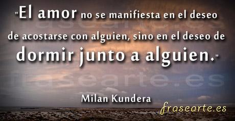 Frases de fotografos, Milan Kundera