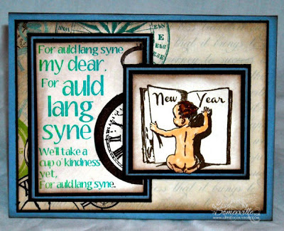 Stamps Artistic Outpost Auld Lang Syne