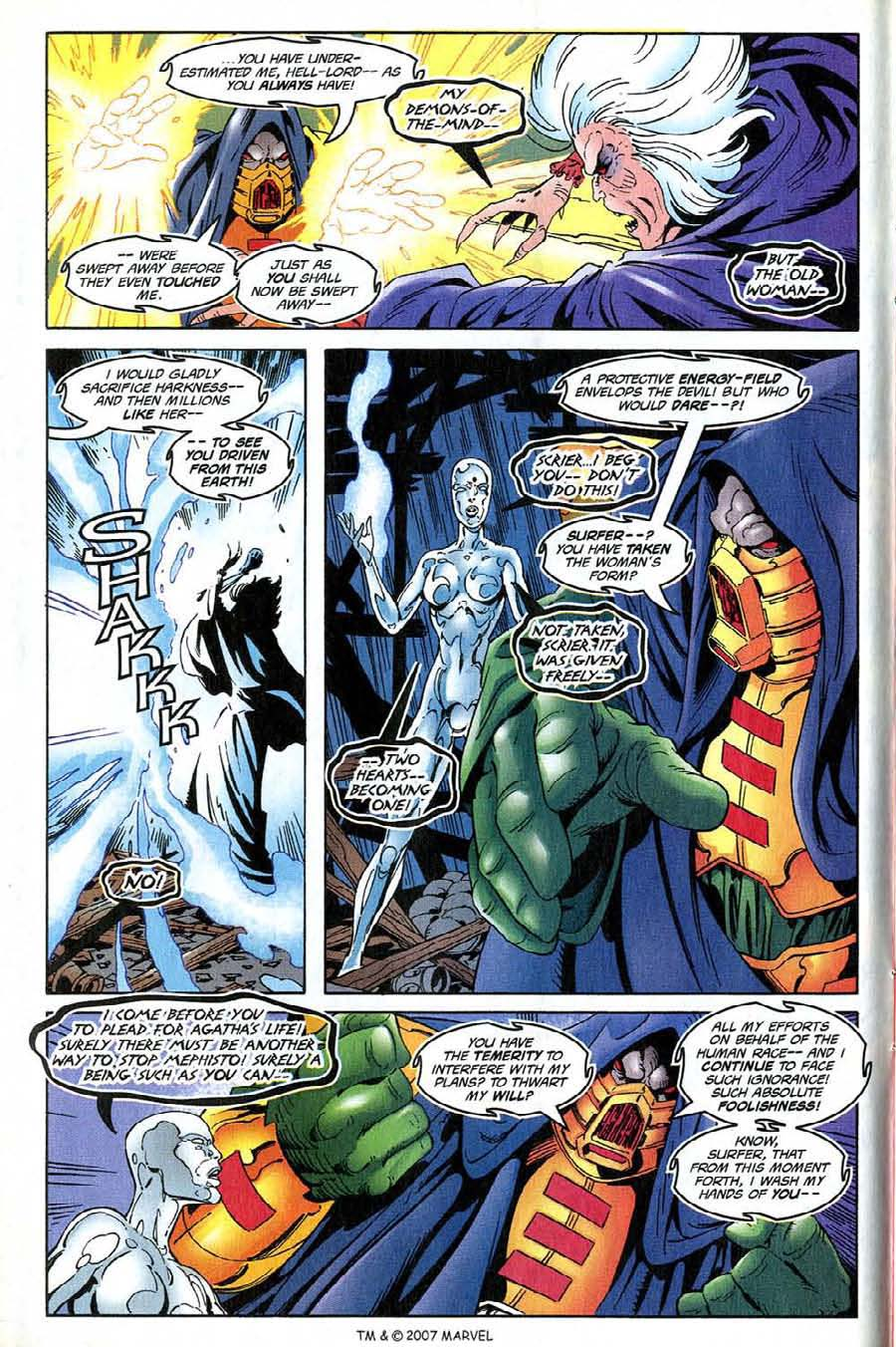 Read online Silver Surfer (1987) comic -  Issue #137 - 12