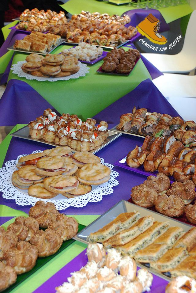 Variedad manjares sin gluten de La Celiacoteca