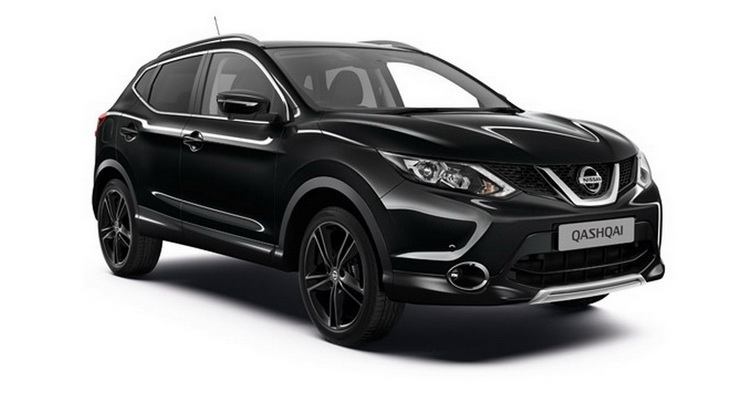 """Nissan Qashqai Gets £27,310 """"Black Edition"""" In The UK"""