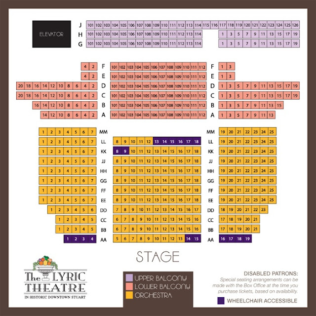 Booth Theater Seating Chart5 Chart