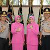 Selamat untuk Kapolda dan Wakapolda dari PJU Polda Banten