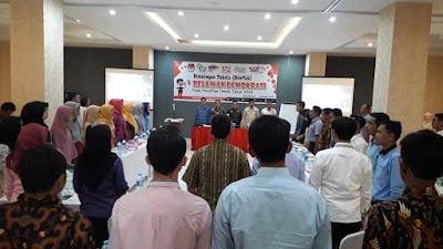 KPU Pringsewu Gelar Bimtek Relawan Demokrasi