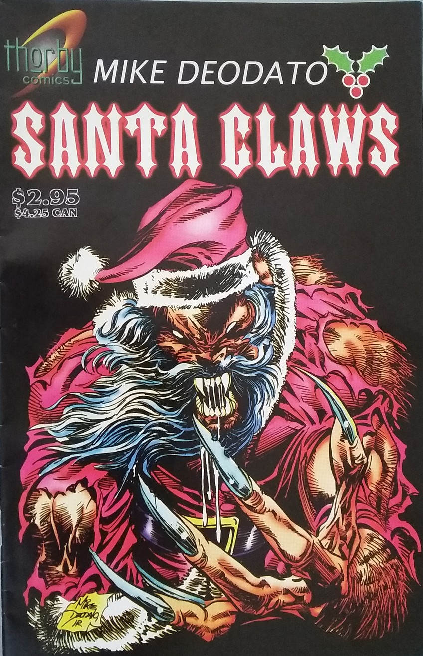 Here Is Your Perfect Christmas Horror Comic That S So Bad