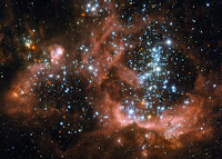 Star-Forming Region NGC 604 in the Triangulum Galaxy