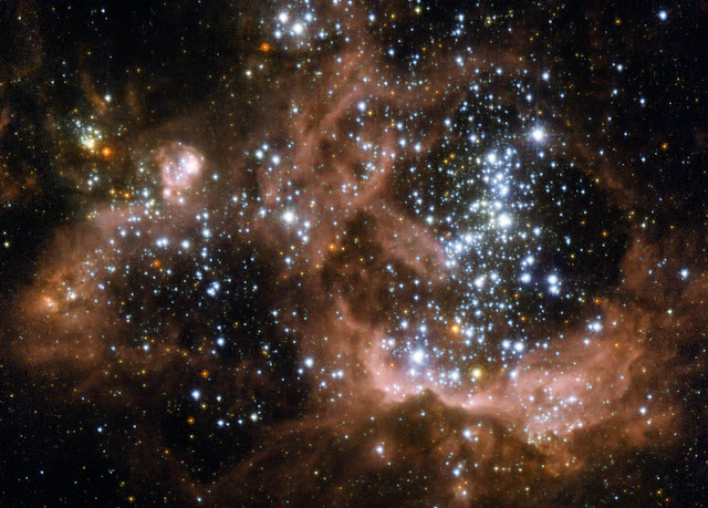 Star-Forming Region NGC 604 in the Triangulum Galaxy