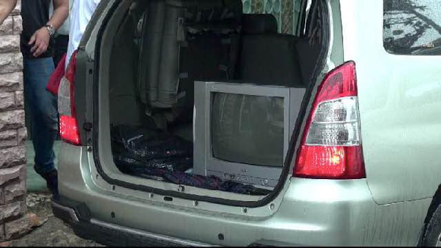 Polisi bawa TV hingga Sprei dari Rumah Firza Husein