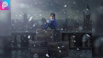 Innocent kid | PicsArt swappy pawar Editing