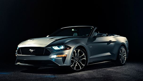 2018 Ford Mustang Convertible Performance end priview