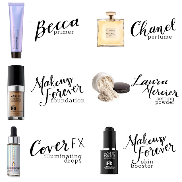 Makeup Subscription Box Review, Makeup Review, Discounted Makeup, Sephora Makeup Review, Beauty Blogger, College Blogger, Lifestyle Blogger, Becca Primer, Chanel Perfume, MakeUp Forever Foundation, Laura Mercier Setting Powder, Cover FX Illuminating Drops, MakeUp Forever Skin Booster