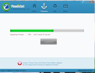 PhoenixSuite Upgrading