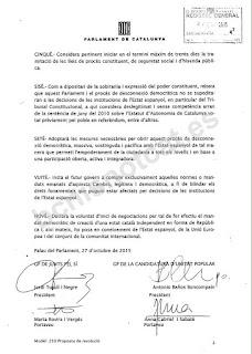 Declaración de independencia de Cataluña