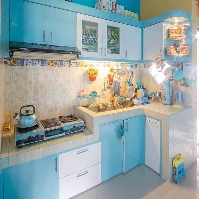 dekorasi dapur minimalis