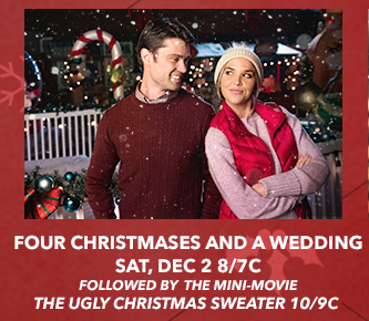 four christmases and a wedding a lifetime christmas movie premiere starring arielle kebbel corey sevier - Christmas On The Bayou Cast