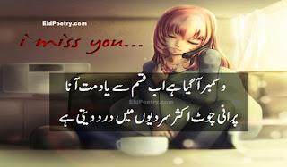 December aa gaya hai ab qasam se yaad mat aana