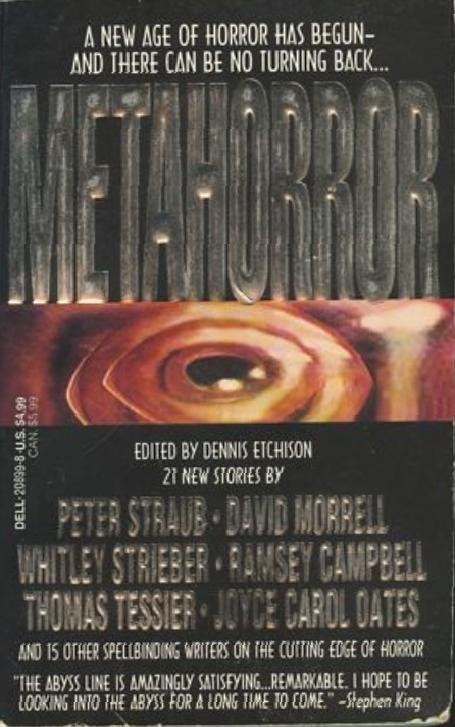 Too Much Horror Fiction Dellabyss Books The Paperback Covers