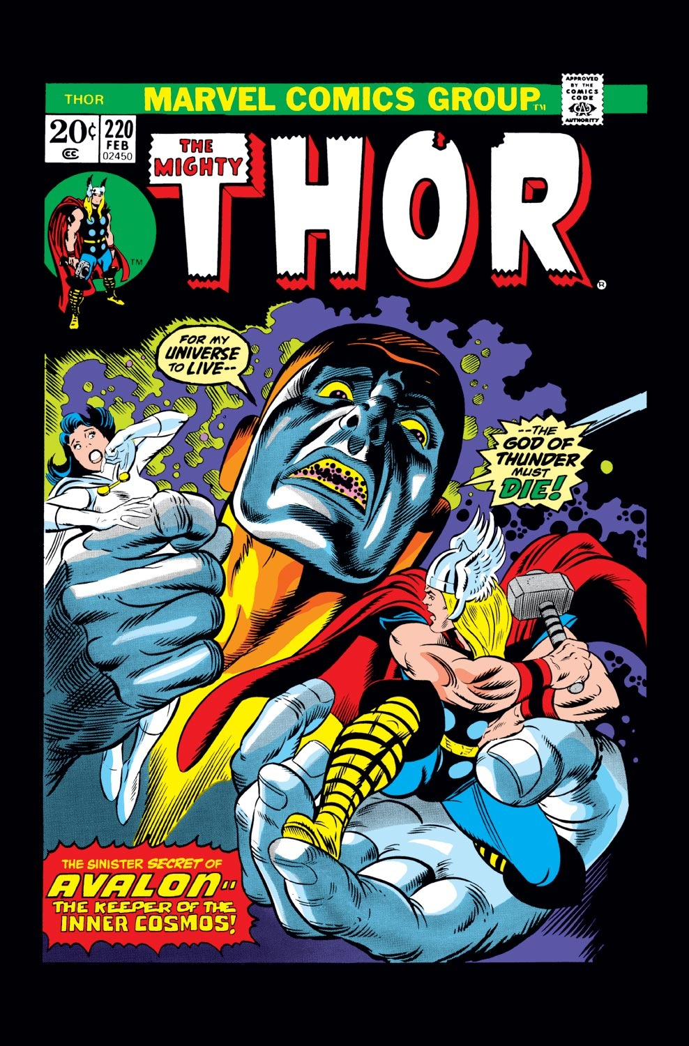 Thor (1966) 220 Page 1