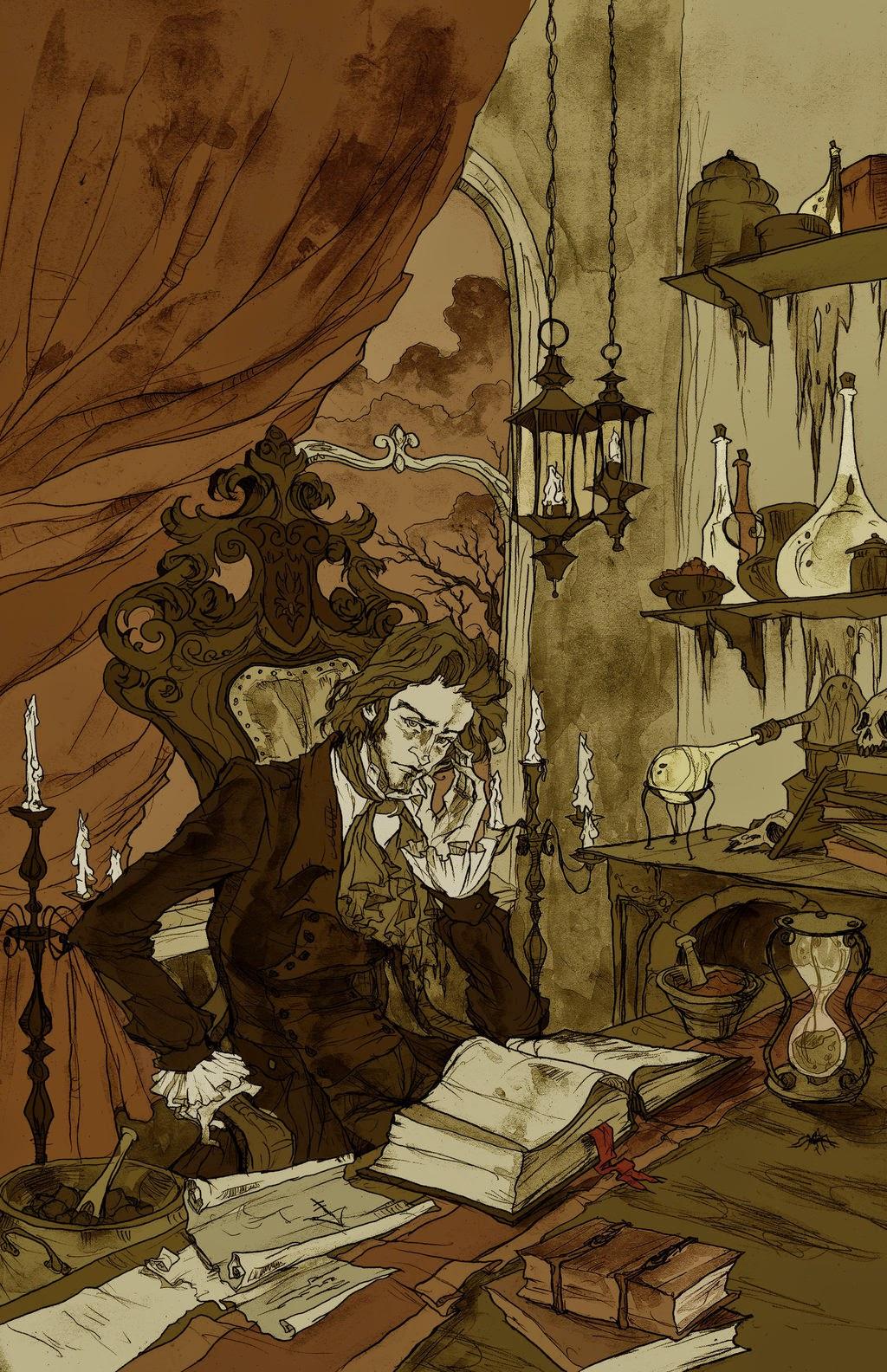 O alquimista - Conto de terror com toque medieval