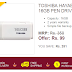 Ebay Flash Sale Loot : Buy Toshiba Hayabusa 16GB Pen Drive at Rs.99 Only
