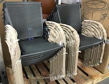Sun Villa Commercial Mesh Bistro Chair