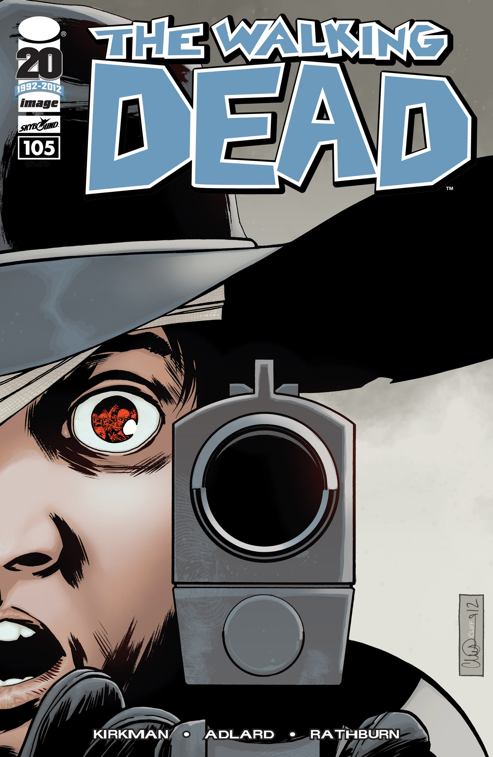 The Walking Dead 105 Page 1