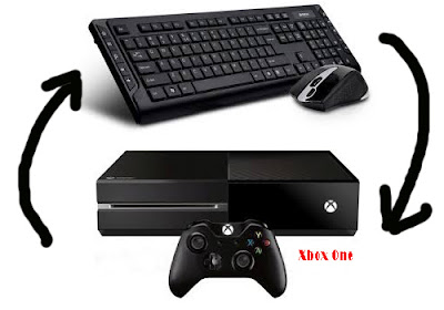 xbox one + keyboard and mouse
