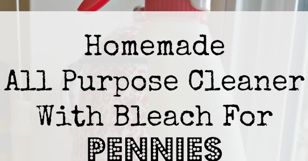 Sunny Simple Life Homemade All Purpose Cleaner With