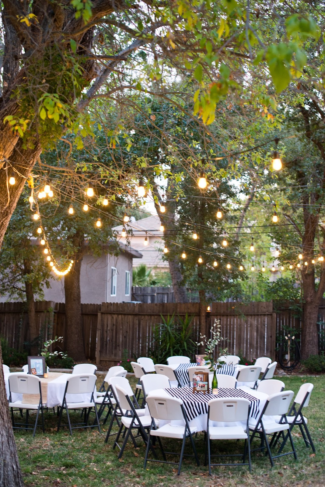 Domestic Fashionista: Backyard Birthday Party: For the Guy ...