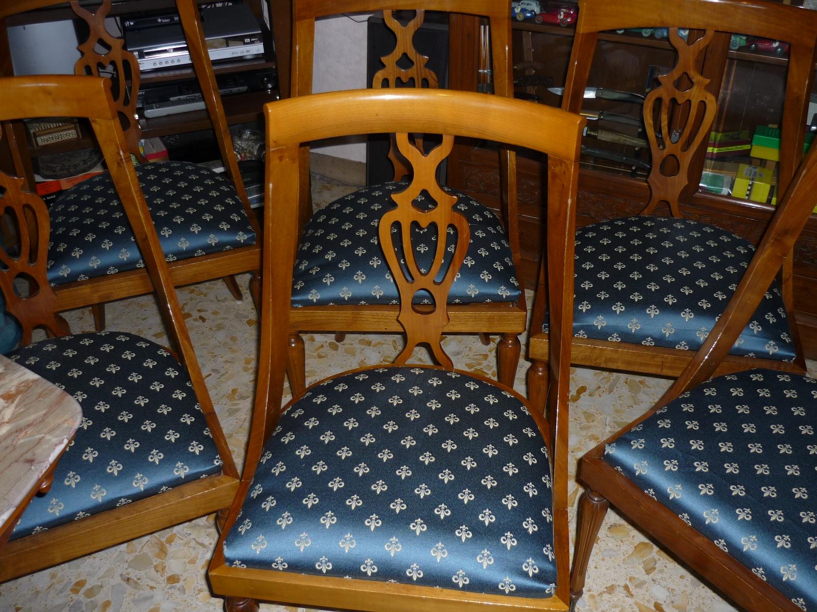Mani stregate restauro sedie camera da pranzo for Camera da pranzo