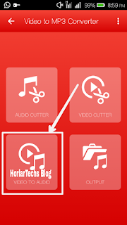 [Android Users Only] How To Get Or Extract Audio (Mp3) File From Video (Mp4) File Using Video To Mp3 Converter