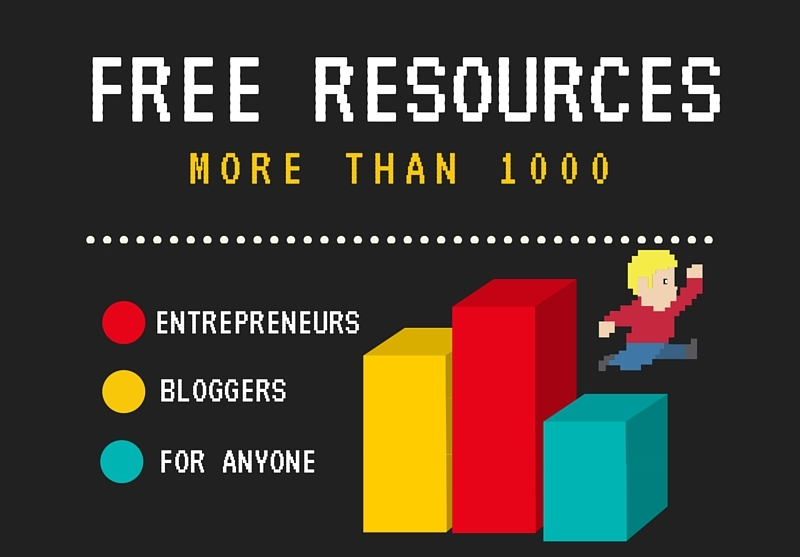 Free resources for bloggers