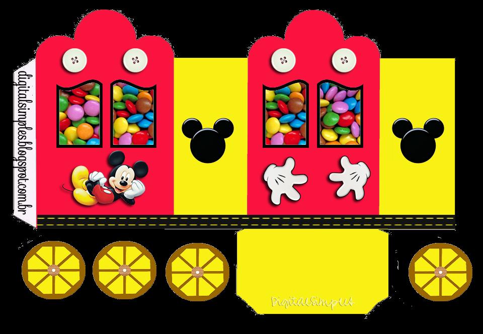 Kit Aniversário de Personalizados Tema Mickey Mouse ...