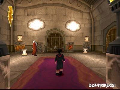 Harry Potter and The Sorcerer Stone PSX Screenshot