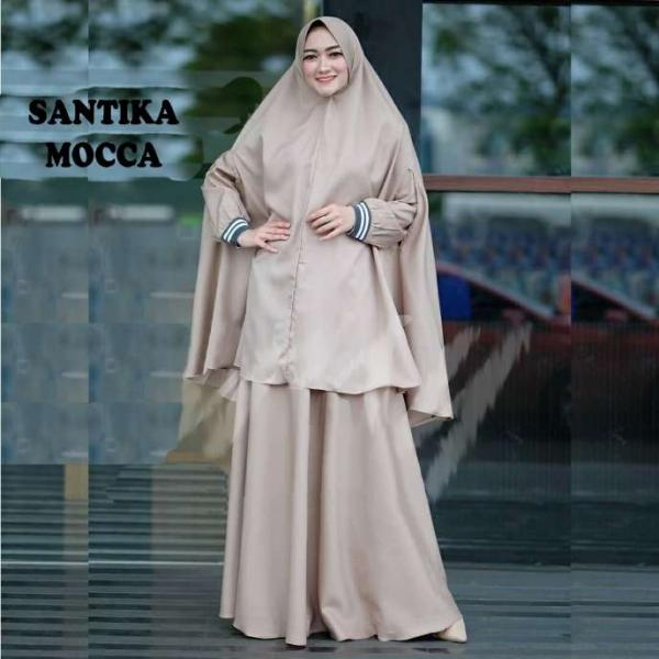 Jual Baju Busana Muslim Gamis Santika Syari