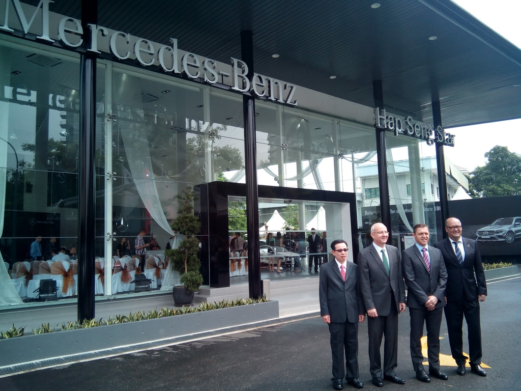 Mercedes Benz Malaysia (MBM) Together With Authorised Dealer Hap Seng Star  (HSS) Has Officially Launched The First Mercedes Benz City Service Center  Located ...