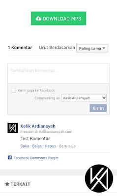 Hasil Komentar Facebook Wapka