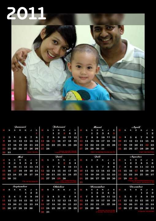 Jasa desain online desain kalender satuan cetak kalender online satuan