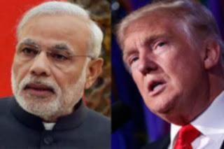 Trump y primer ministro indio discutirán prioridades comunes