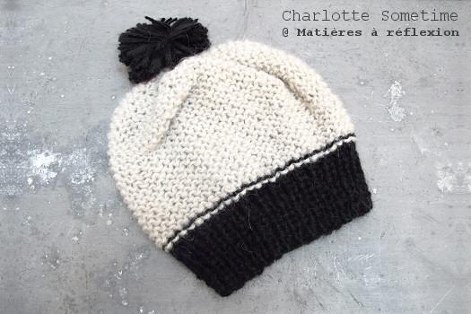 SOLDES Bonnet Charlotte Sometime