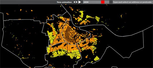 Maps Mania Mapping a City\u0027s Growth