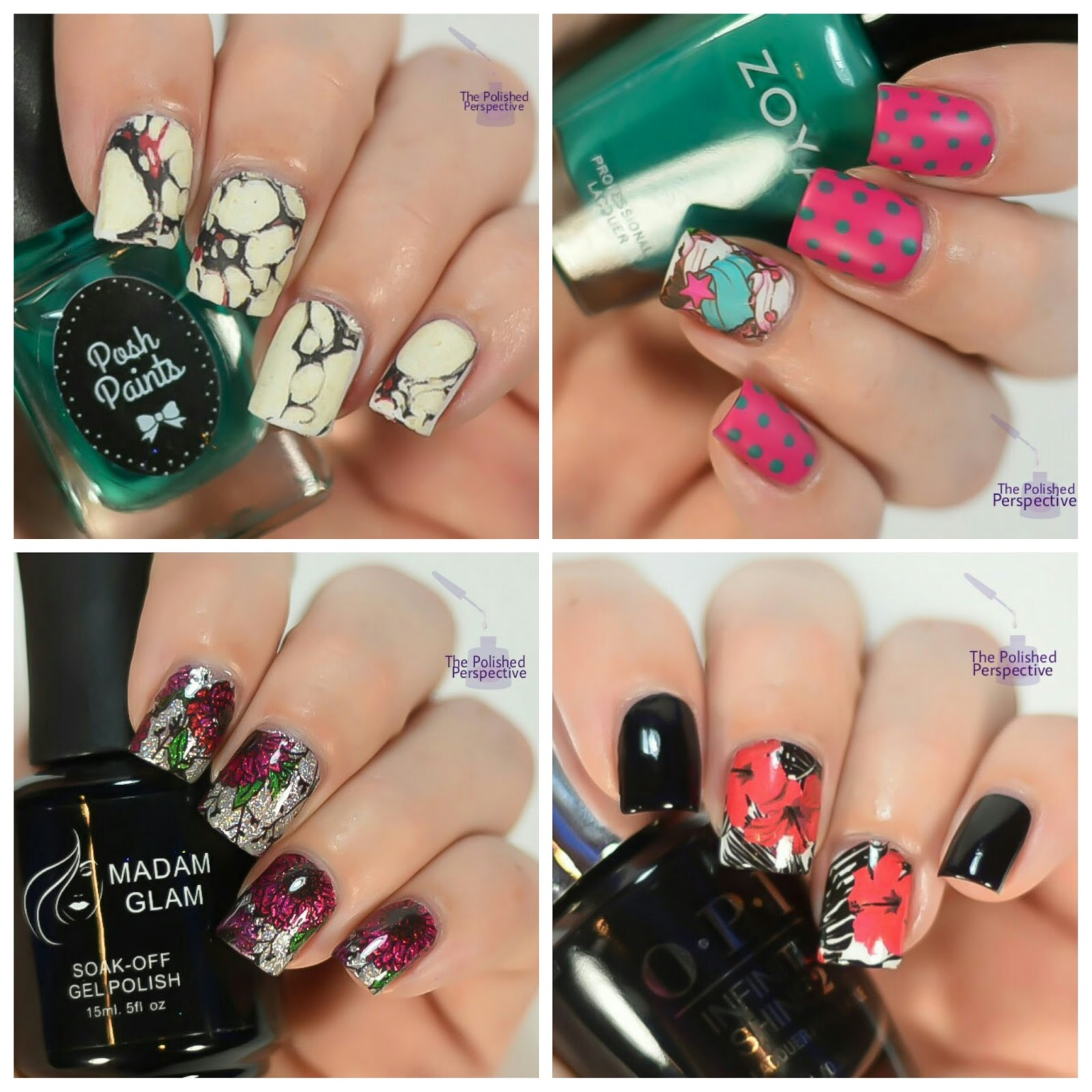 The Polished Perspective: Nail Art Water Decal Review