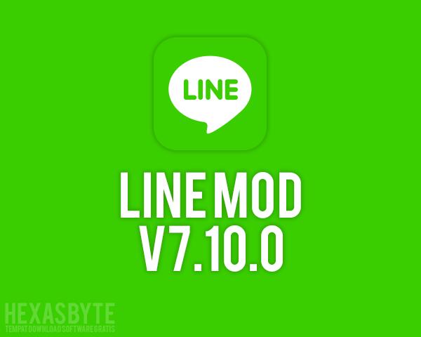 Line Mod v7.10.0 APK